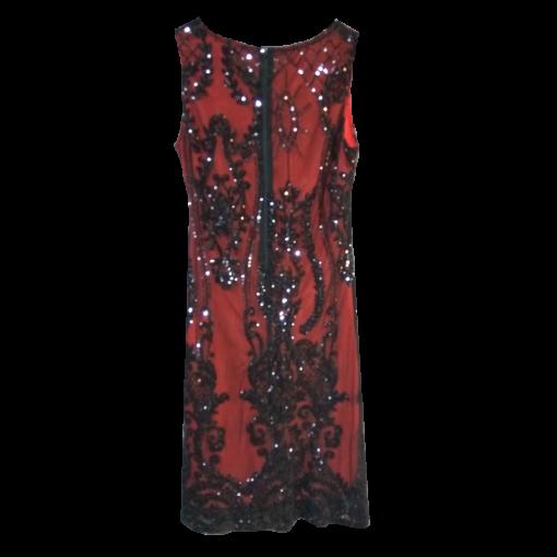 Κοντό φόρεμα ελαστικό με παγιέτες