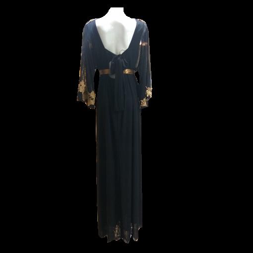 Maxi φόρεμα με κρουαζέ μπούστο