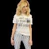 Κοντομάνικη μπλούζα με τύπωμα