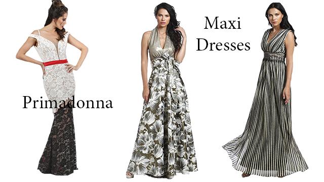 Μακριά φορέματα Primadonna σε προσφορά