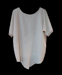 Δίχρωμη ασύμμετρη γυναικεία μπλούζα