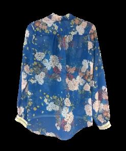Κρουαζέ μπλούζα με μακριά μανίκια