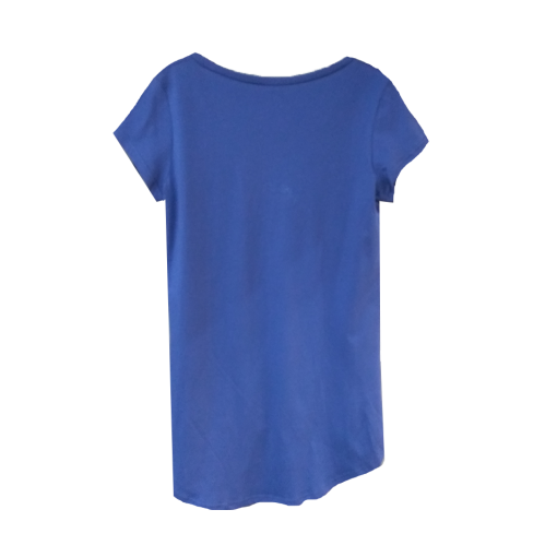 Women's blouse with short sleeves