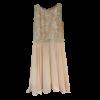 Κοντό φόρεμα κλος με δαντέλα και μουσελίνα