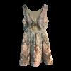 Φόρεμα σε Α γραμμή με ανοικτή πλάτη