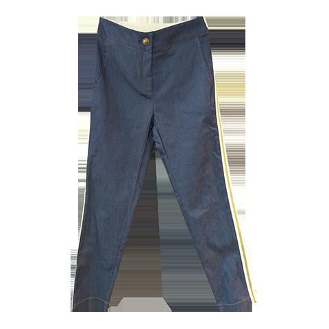 Παντελόνι τζιν - casual top - ζακέτα με κουκούλα