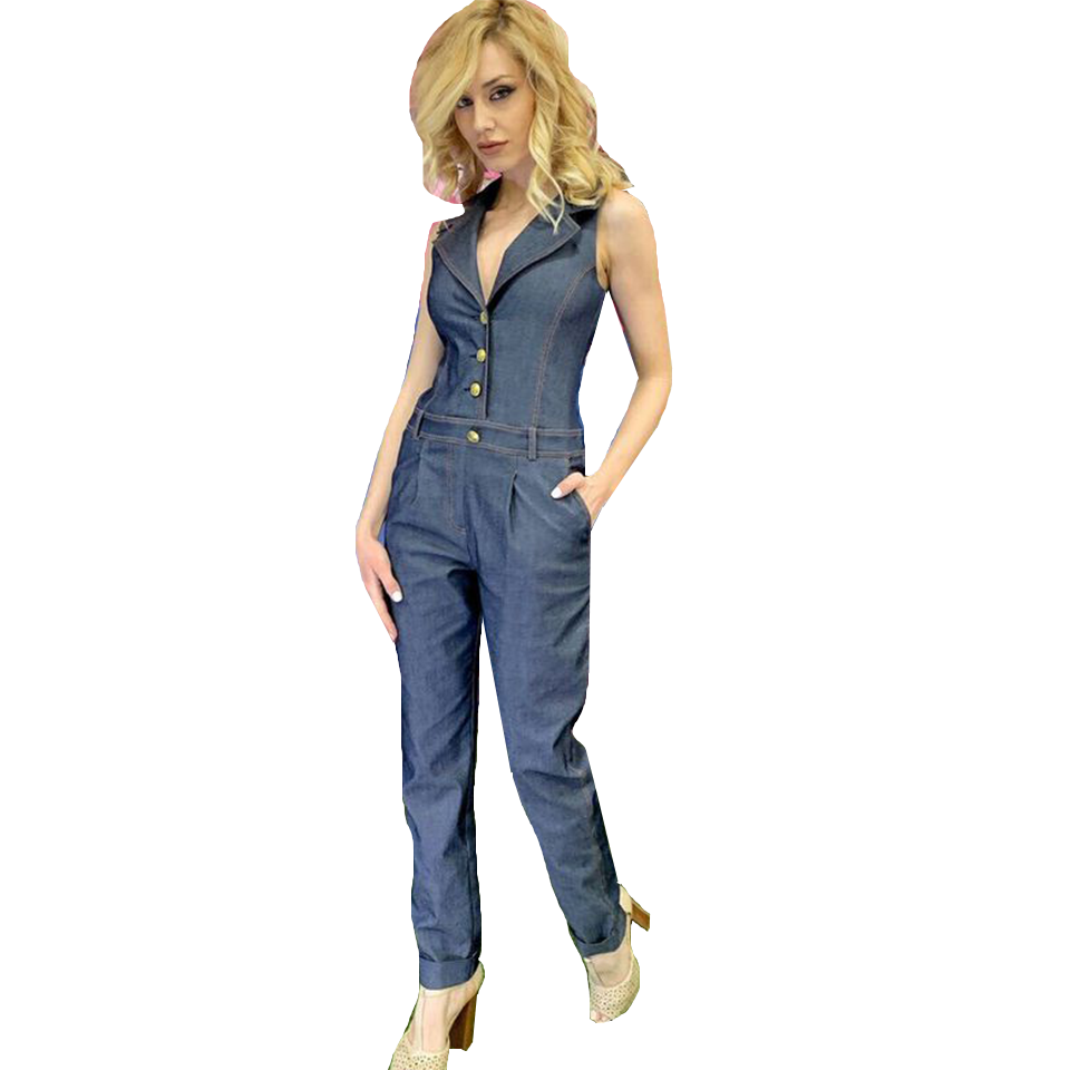 240e3ba322d Γυναικεία ολόσωμη φόρμα τζιν | Primadonna.com.gr