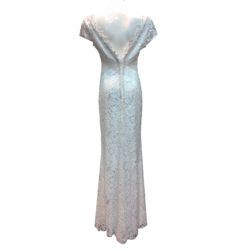 Maxi bridal dress with opening