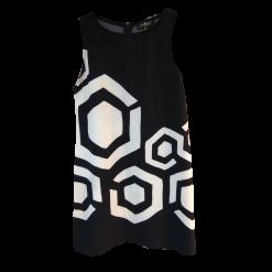Κοντό φόρεμα με γεωμετρικά σχέδια