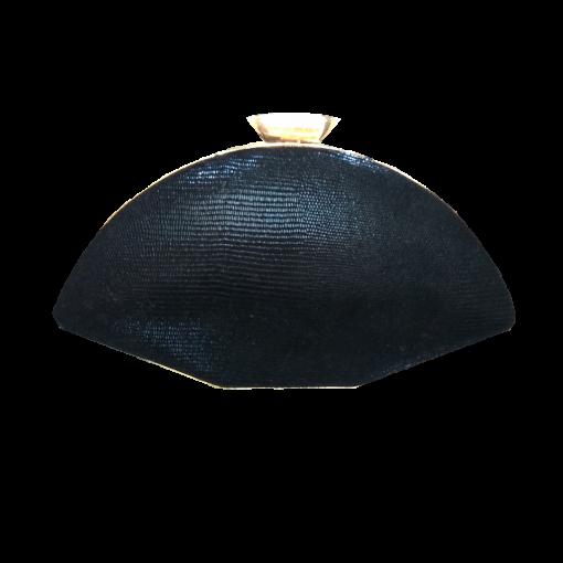 Πολύγωνο clutch bag με αλυσίδα