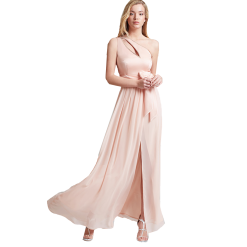 a52577e26a1b Maxi φόρεμα με ένα ώμο και άνοιγμα