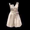 Κοντό φόρεμα με ανόμοιες τιράντες