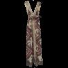 Maxi καφτάνι με κάθετη διακοσμητική δαντέλα