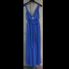 Maxi φόρεμα με στριφτές τιράντες