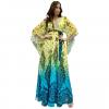Maxi φόρεμα καφτάνι με μανίκια
