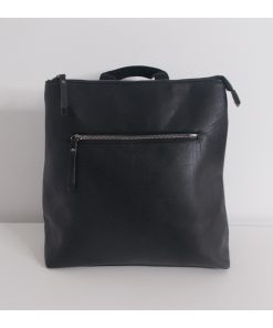 mavro-backpack-me-eksoterikes-thikes primadonna.com.gr